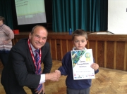 Southfields 'Well Done' Certificate