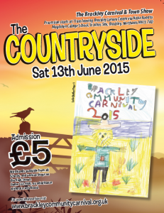 Brackley Community Carnival 2015 Front Cover