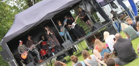 Community Stage – Talented Bands, Singer and Acts required!!