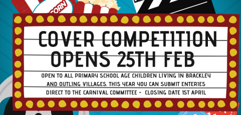 Cover Competition Opens 25th Feb!