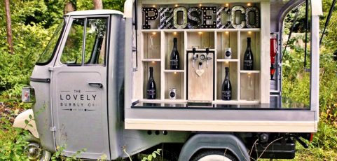 Prosecco van comes to the Carnival!