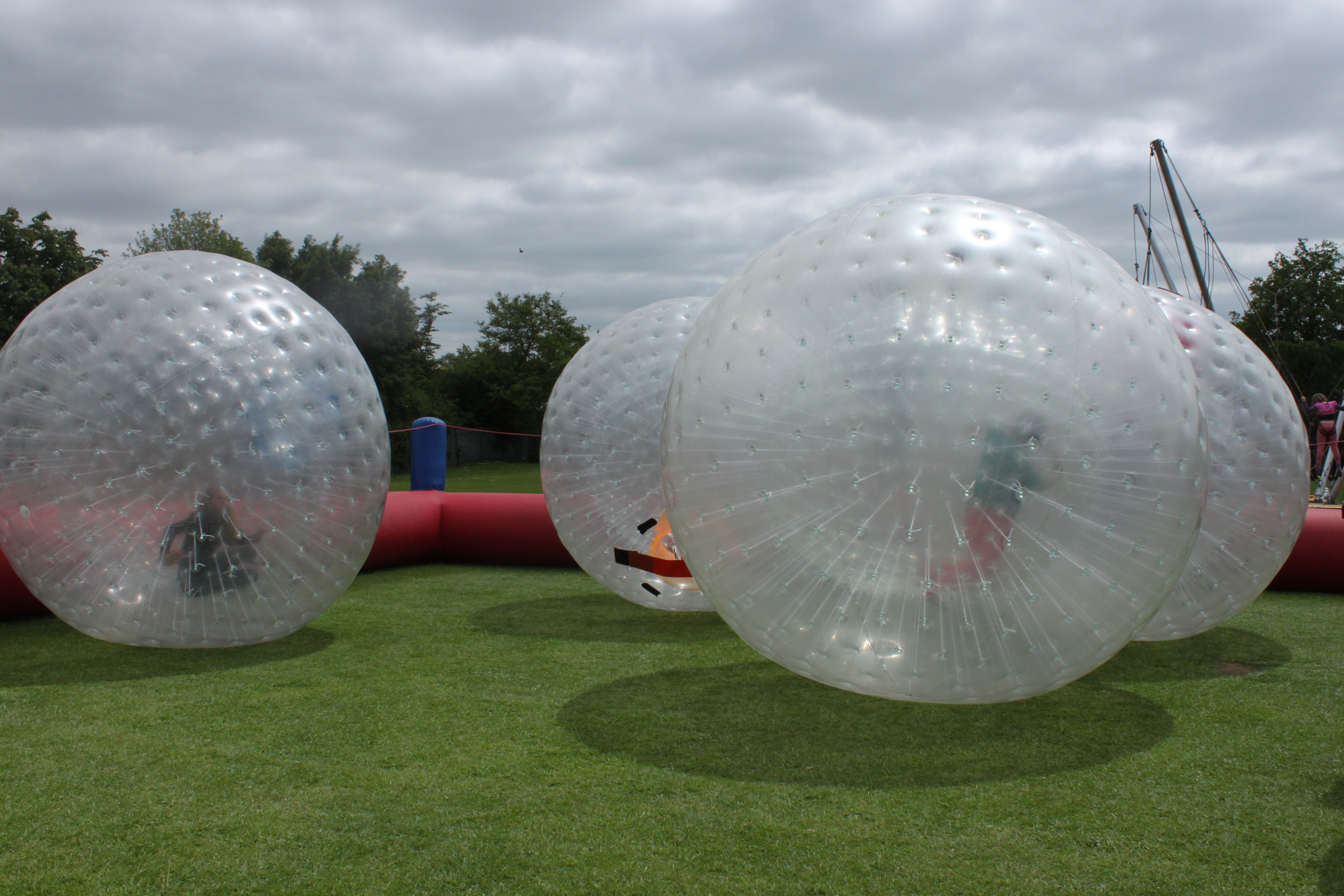 Zorb balls!…yippppeeee